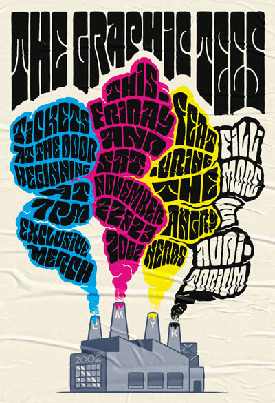 Atlassian Graphic Tees Poster