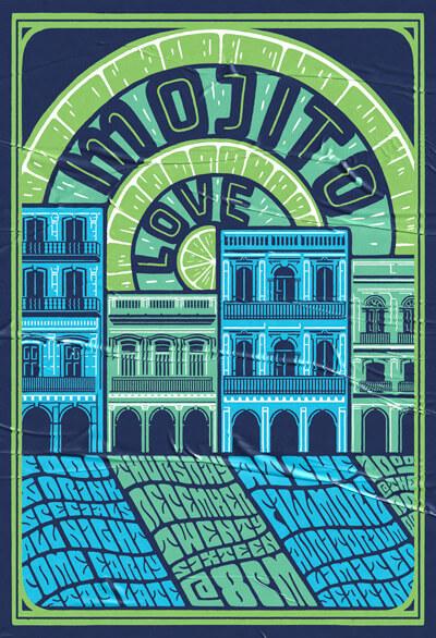 Atlassian Mojito Love Poster
