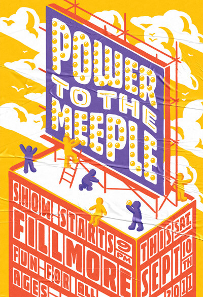 Atlassian Power to the Meeple Poster