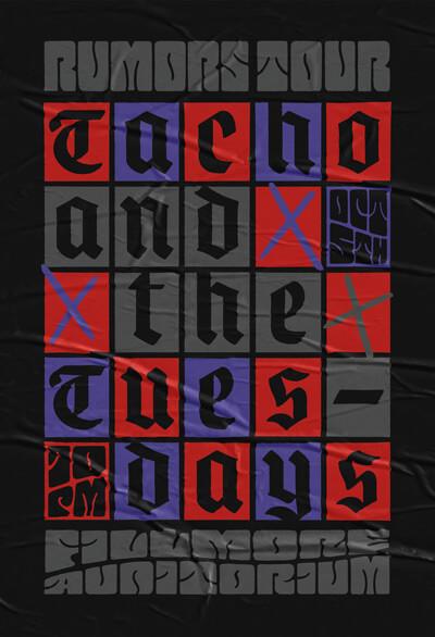 Atlassian Rumors Tour Poster
