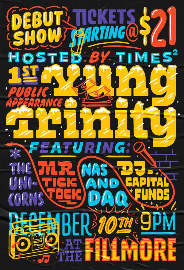 Atlassian Yung Trinity Poster