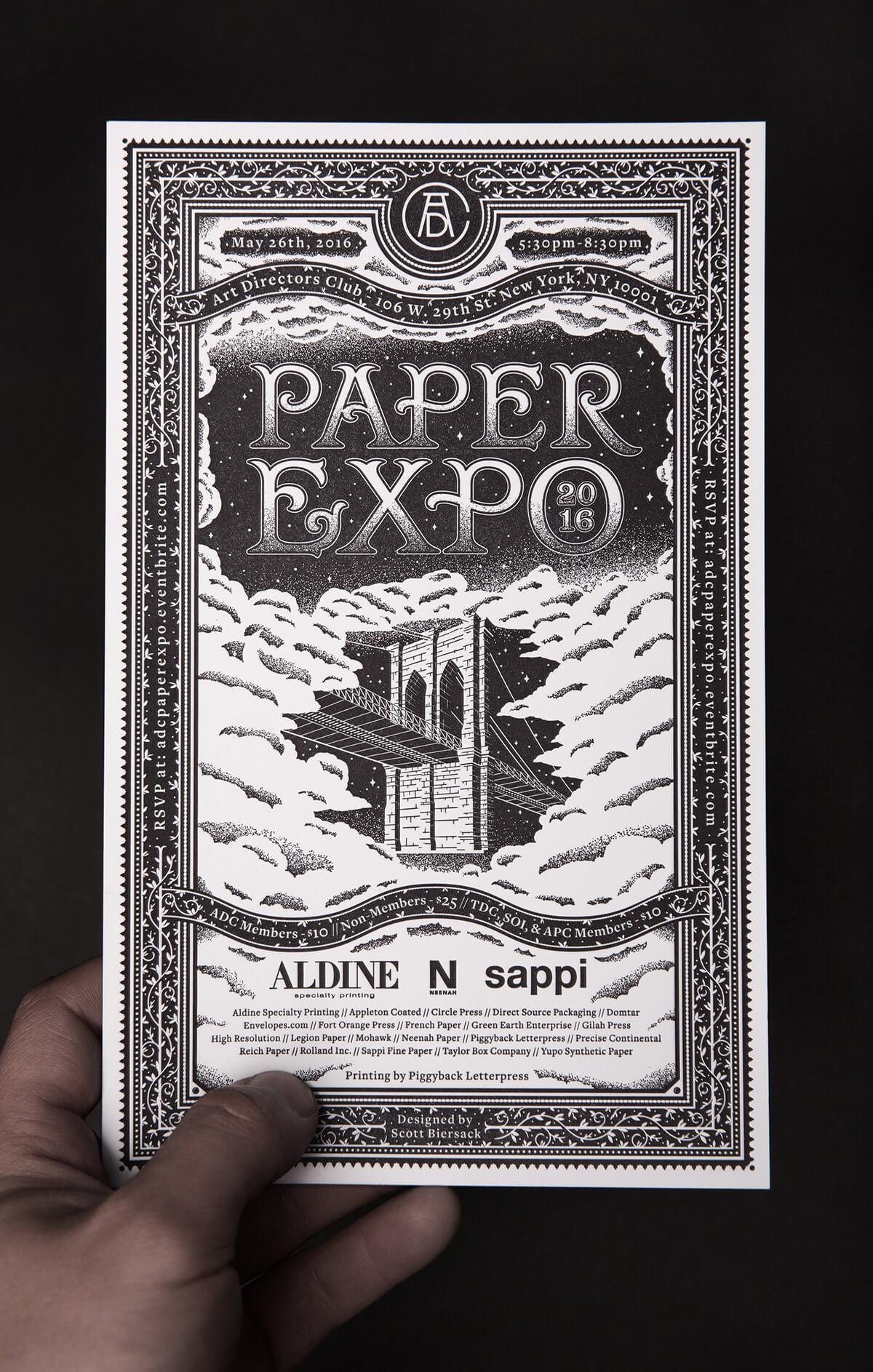 Paper Expo Invite