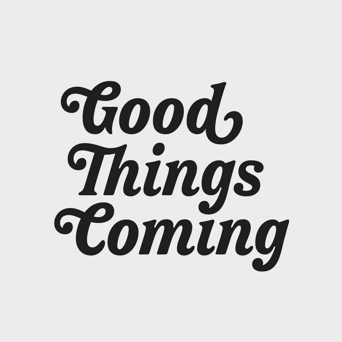 Good Things Coming Logotype