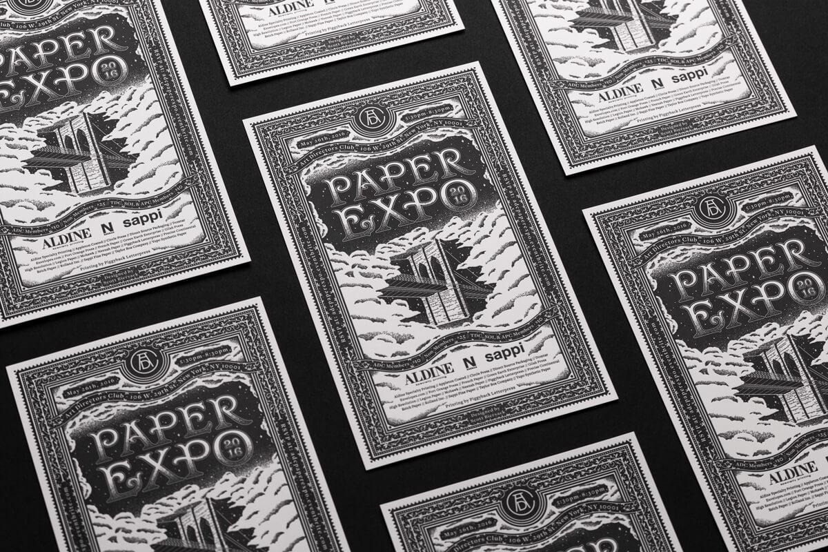 Paper Expo Invite Collection
