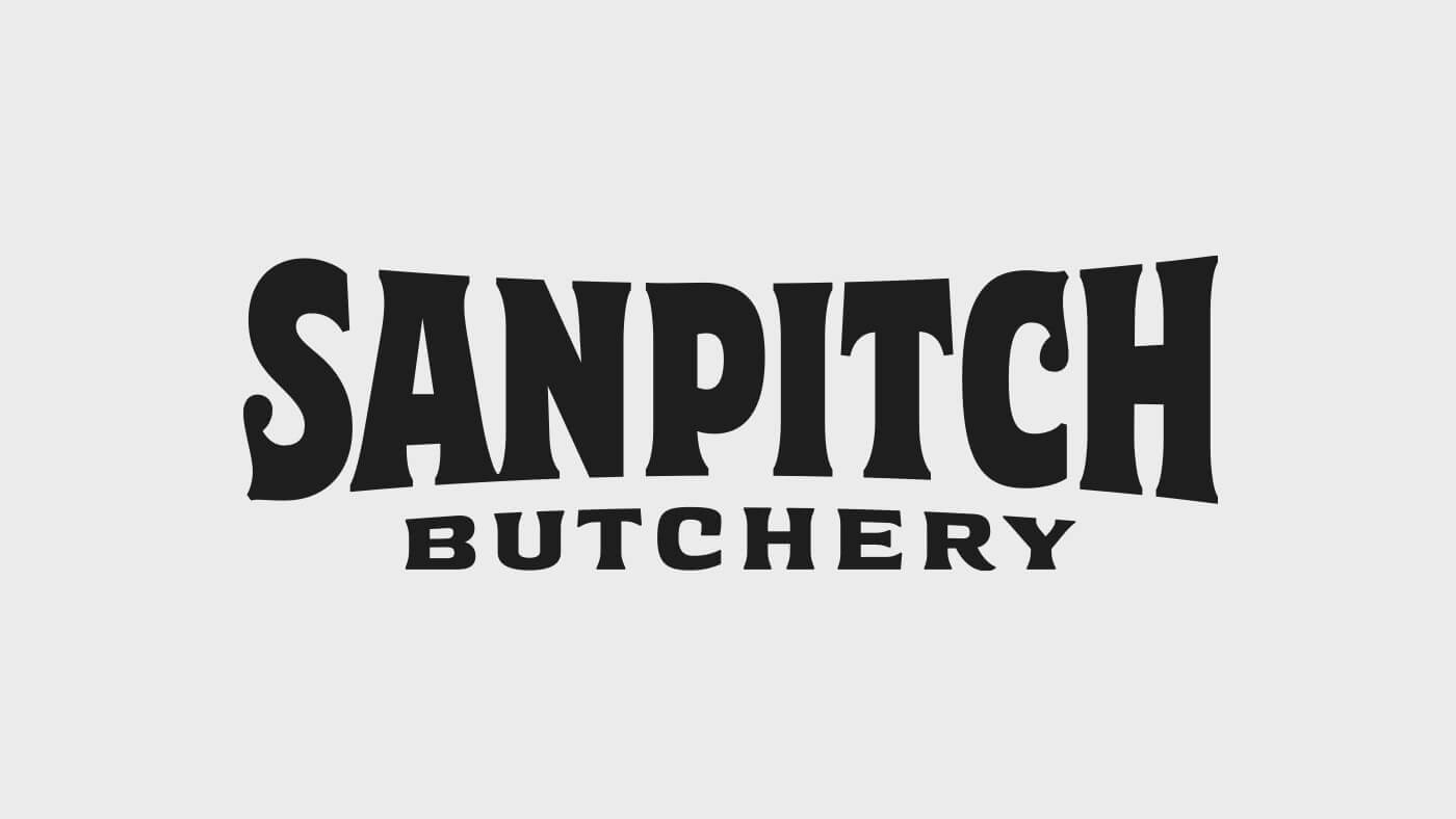 Sanpitch Butchery Logotype