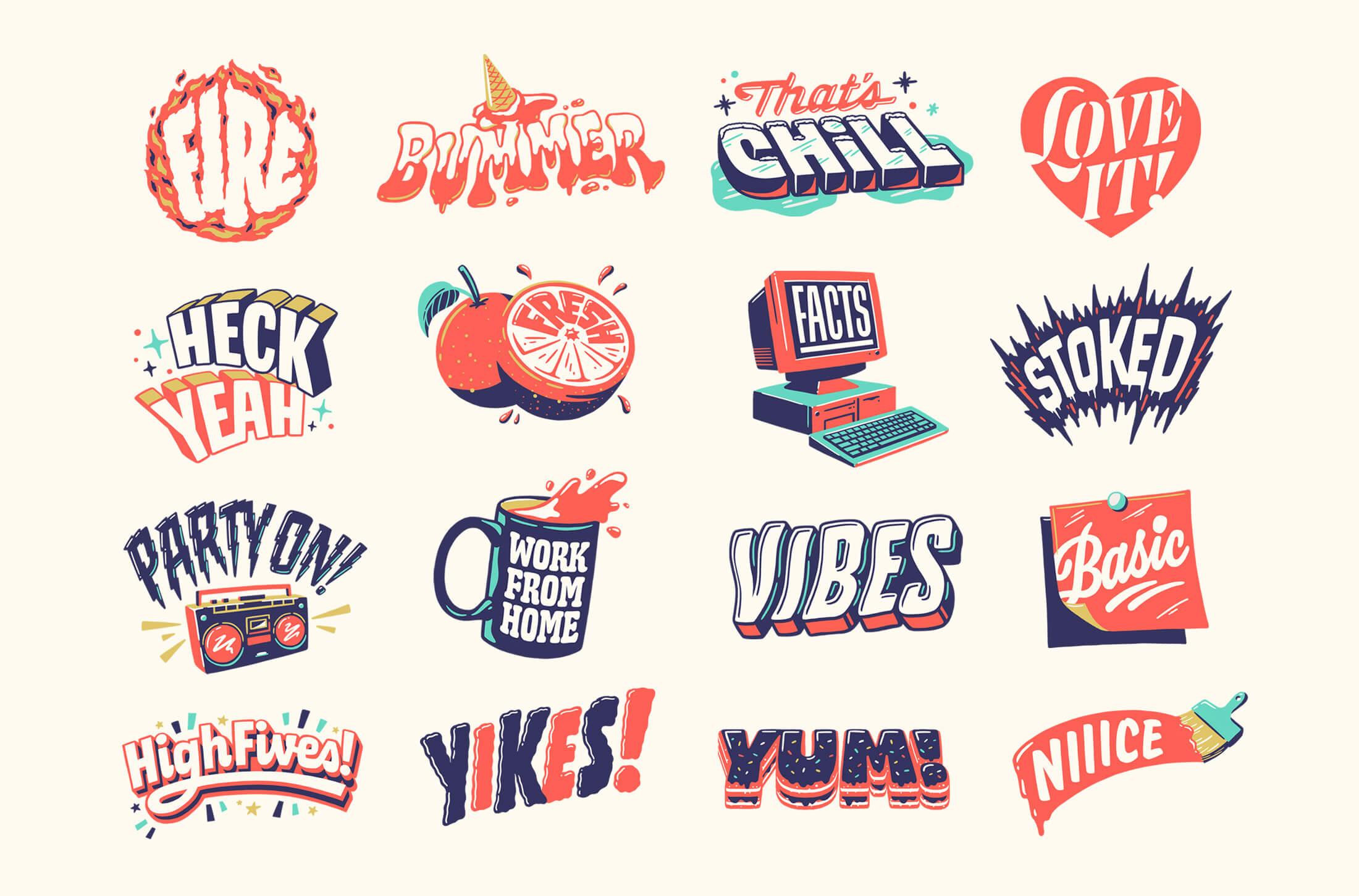 A Few Moods — FB Stickers