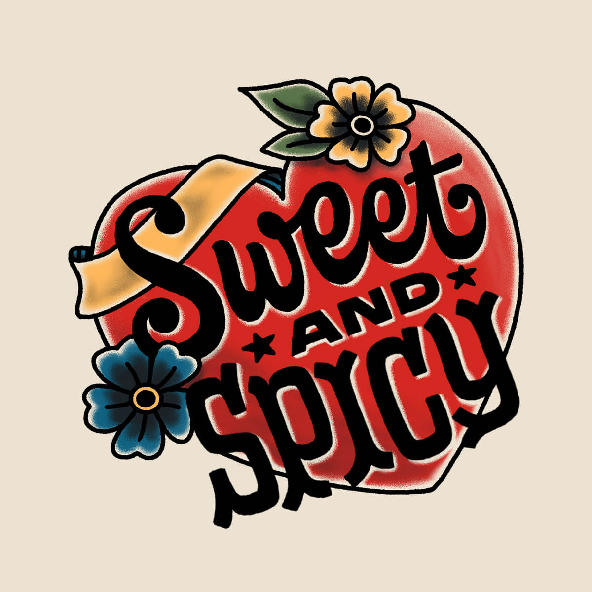 Sweet and Spicy Sticker
