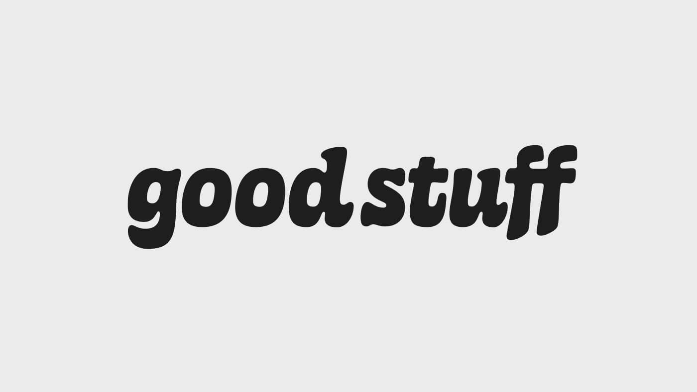 good stuff Logotype