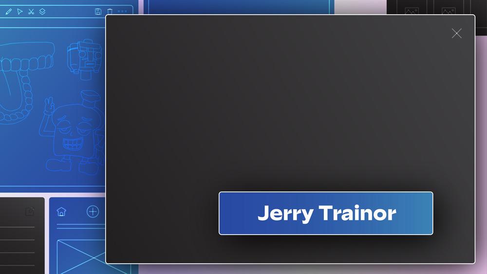 Jerry Trainor Title Card