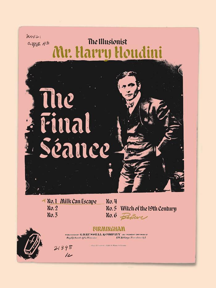Malice Stencil Poster Specimen 2