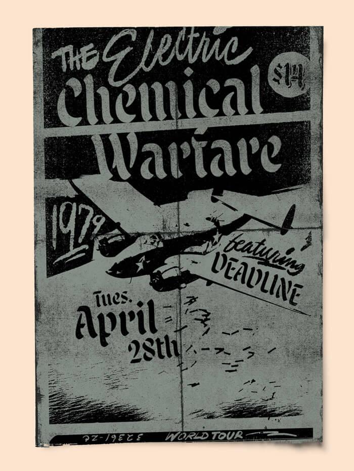 Malice Stencil Poster Specimen 1