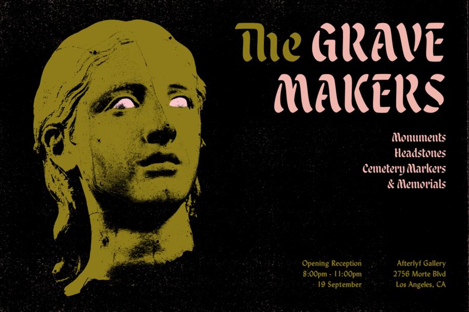 Malice Stencil Grave Makers